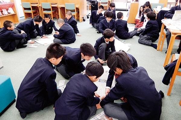 NIE(教育に新聞を)