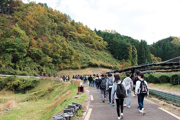 京都は昔海だった 宇治田原の綴喜層群と巨椋池の干拓地