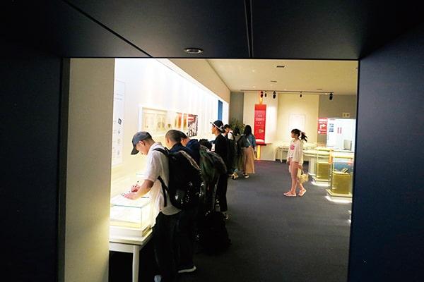 大阪造幣局工場の見学